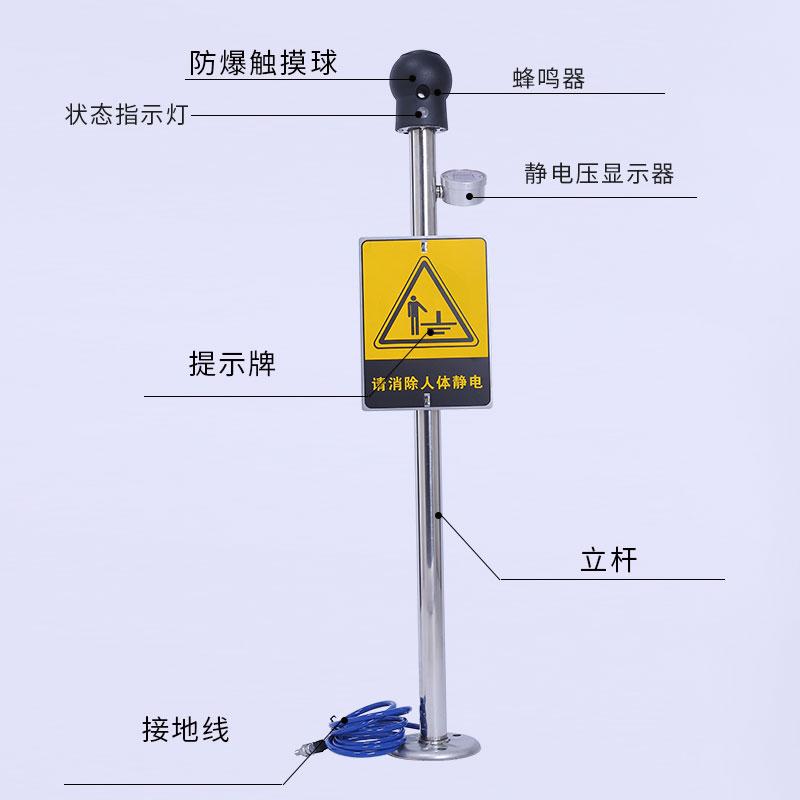 TMR-PSA人体静电释放器